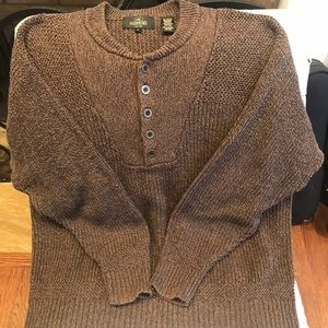 RedHead Henley Style Men's Pullover Sweater XL